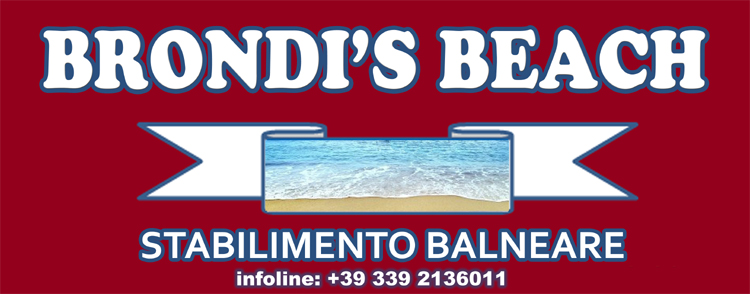 logo brondi's beach ok