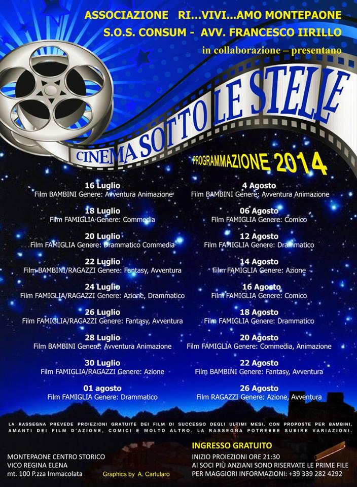 cinema sotto le stelle riviviamo