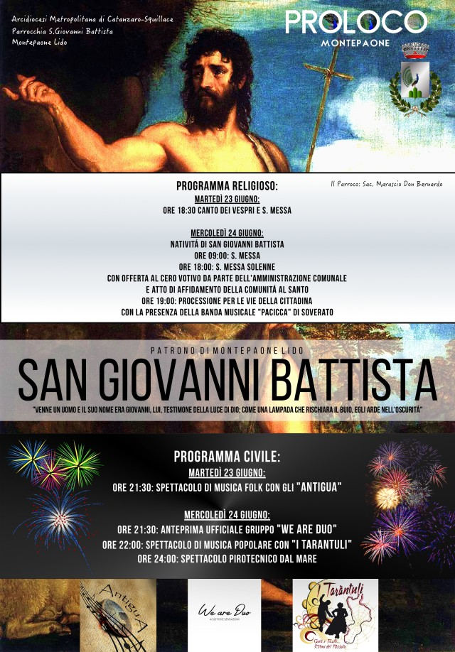SAN GIOVANNI BATTISTA 2015