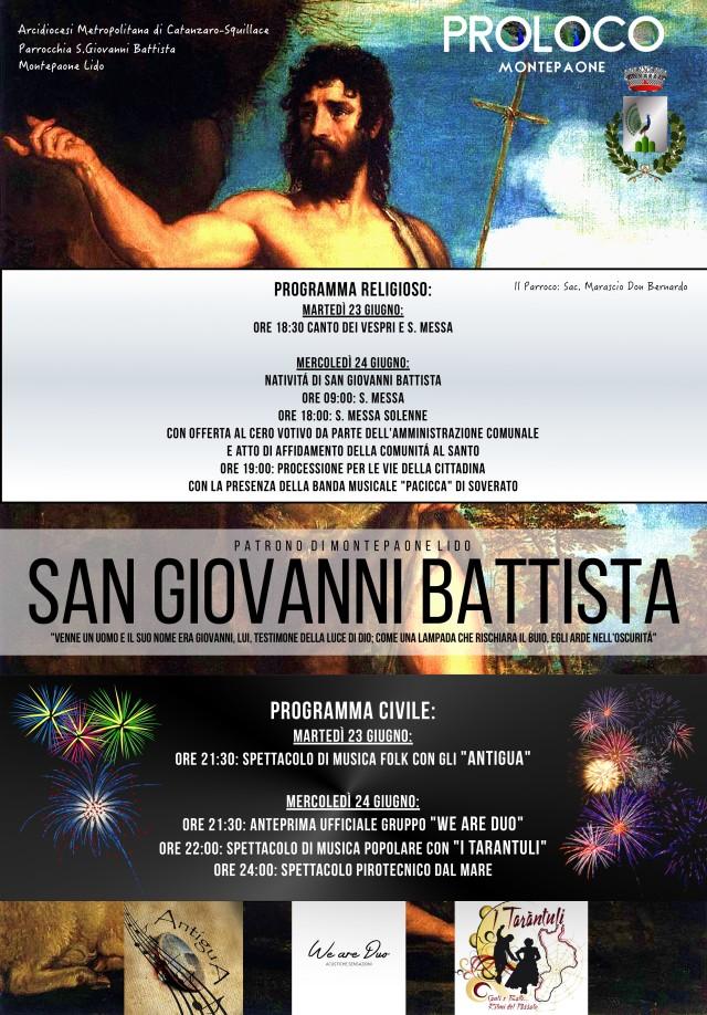 SAN GIOVANNI BATTISTA 2015