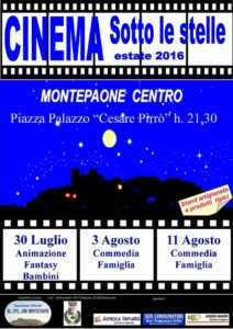 cinema sotto le stelle a montepaone